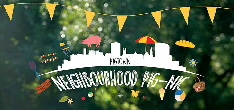 Hold your own 'Pigtown Neighbourhood Pig-nic' this September