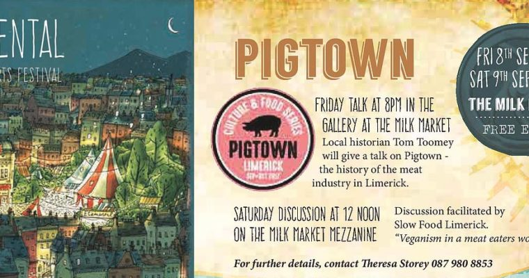 Pigtown Talks – two for the diary this weekend