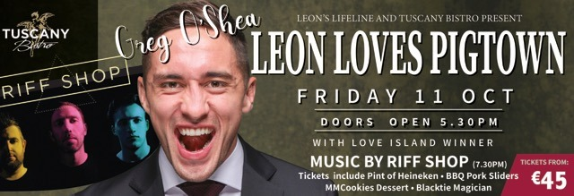 Leon Loves Pigtown with Greg O'Shea
